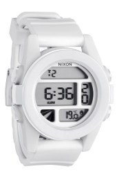 Nixon Unit Round Watch- White