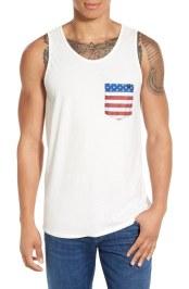 Rip Curl American Flag Pocket Tank